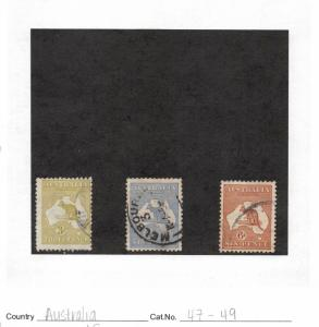 Lot of 13 Australia Assorted Used Stamps #130703