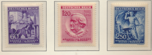 Bohemia and Moravia Stamps Scott #84 To 90, Mint Never Hinged, 1942-4 Issues ...