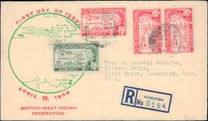 Jamaica, Worldwide First Day Cover