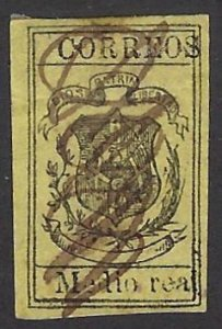 DOMINICAN REPUBLIC 30 USED SCV $21.00 BIN $8.40 COAT OF ARMS