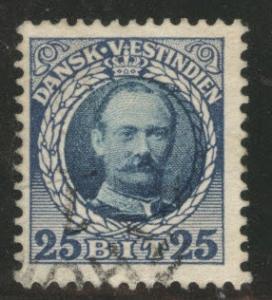 Danish West Indies DWI  Scott 47 used