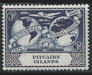 Pitcairn Islands  |  Scott # 14 - MH