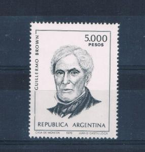 Argentina 1262 MNH Guililermo Brown (A0198)
