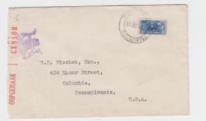 SOUTH WEST AFRICA -USA 1943 CENSOR COVER, TAPE 2A1, 3d RATE (SEE BELOW