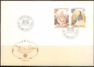 Liechtenstein FDC 1983 SC# 754-5 L189