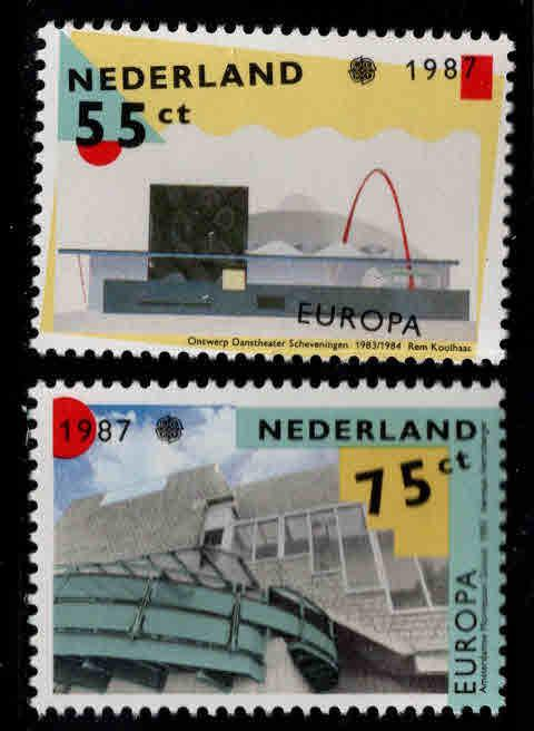 Netherlands Scott 715-716  MNH** Europa 1987 set