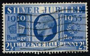 Great Britain #229 Silver Jubilee Issue; Used (4.50) (3Stars)