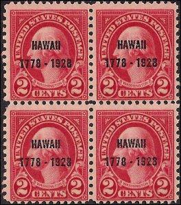 647 Mint,OG,NH... Block of 4... SCV $29.00