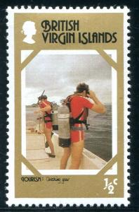 Virgin Islands Sc#357 MH (VI)