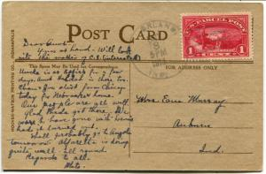 USA SC# Q1 Parcel Post on Post Card