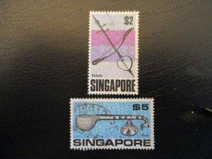 Singapore #109-10 Used - WDWPhilatelic (AZ2ZA)