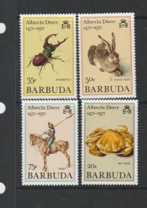 Barbuda 1971 Durer, The unissued set, UM/MNH