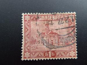 Germany  Saargebiet 1922  Sc.#113