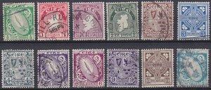 Ireland 65-76 used (1922-1923)