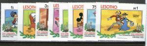 Lesotho 412-419 MNH