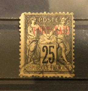 French Offices Abroad 1899 Port Said 25c,Sc 9,Used (FC-4)