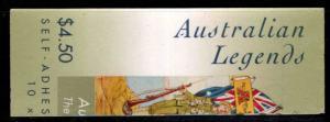 AUSTRALIA Scott 1804-1807 MNH** Bloolket set self adhesive serpinteine