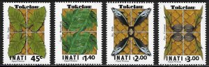 Tokelau Scott # 501 - 504 MNH