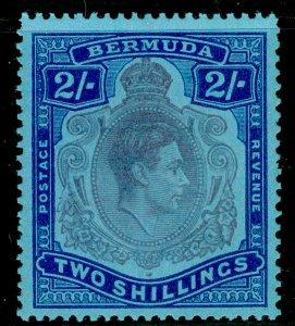 BERMUDA SG116e, 2s dull purple & blue/pale blue, NH MINT. Cat £14. P.13.