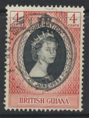 British Guiana SG 330 Used  (Sc# 252 see details)  Coronation