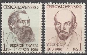 Czechoslovakia #2310-1 MNH (K964)