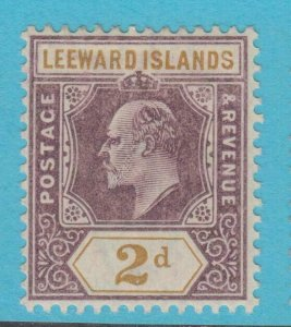 LEEWARD ISLANDS 22 MINT  HINGED OG * NO FAULTS EXTRA FINE !