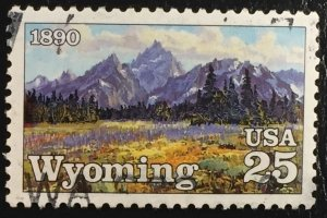 US #2444 Used F/VF - Wyoming