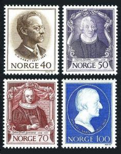 Norway 562-65,MNH.Michel 613-616. Zoologists,1970.Sars,Strom,Gunnerus,Sars.