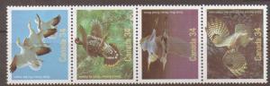 CANADA SG1199/202 1986 BIRDS MNH