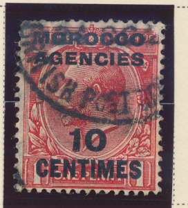 Great Britain, Offices In Morocco Stamp Scott #403, Used - Free U.S. Shipping...
