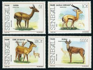 Senegal 924-927,MNH.Michel 1127-1130. Antelopes 1991.