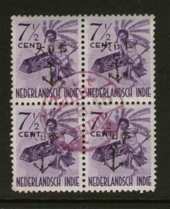 Netherlands Indies Japanese Occupation JSCA 3N13 OG