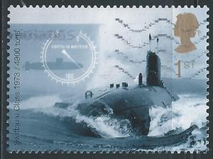 Great Britain #1968a 1st Submarines - Swiftsure Class, 1973