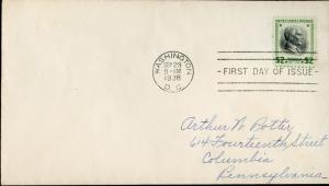 #833 FDC XF COVER BN5654