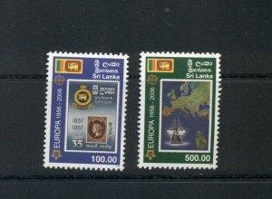 Sri Lanka  #1539-40 (2006 Europa stamps set) VFMNH CV $13.50