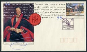 COROWA FEDERATION CONFERENCE 1993 - PSE CANCELLED FDI (JP)