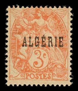 Algeria 3a Unused (MH)