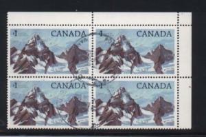 Canada #934 Used Variety Block
