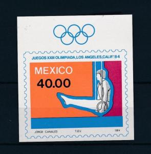 [44313] Mexico 1984 Olympic games Los Angeles Gymnastics MNH Sheet