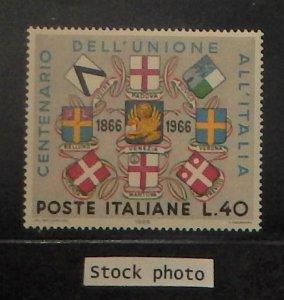 Italy 932. 1966 Union with Venezia Centenary, NH