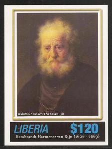 Liberia 2411 2006 Rembrandt s.s. MNH