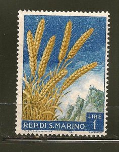 San Marino 416 Wheat Mint Hinged
