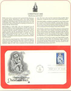 Christmas 85, FDC (USHFDC2165)