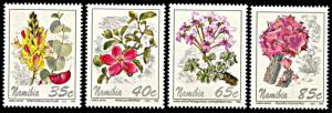 Namibia 762-765, MNH, Flowers