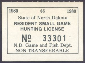 US North Dakota Scott #27 Mint, VF, NH