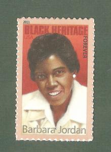 4565 Barbara Jordan US Single Mint/nh (Free Shipping)
