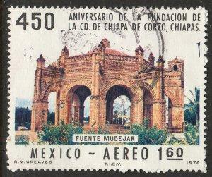 MEXICO C555, 450th Anniv of Chiapa de Corzo, Chiapas USED. F-VF. (798)