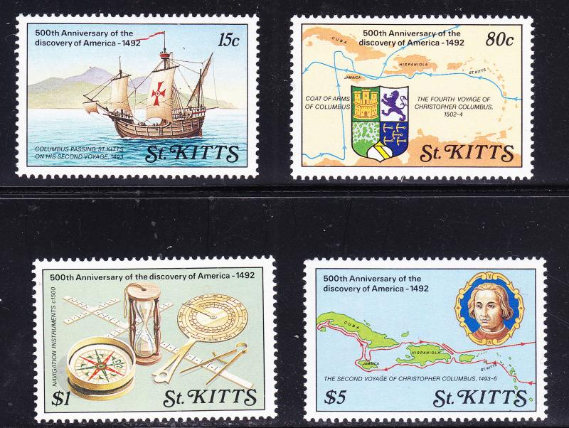 St. Kitts Anniversary Discovery of America Columbus