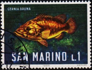 San Marino. 1966 1L S.G.804 Fine Used