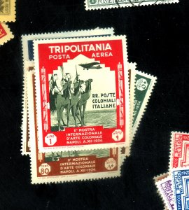 Tripolitania #C43-47 MINT FVF OG HR Cat$20
